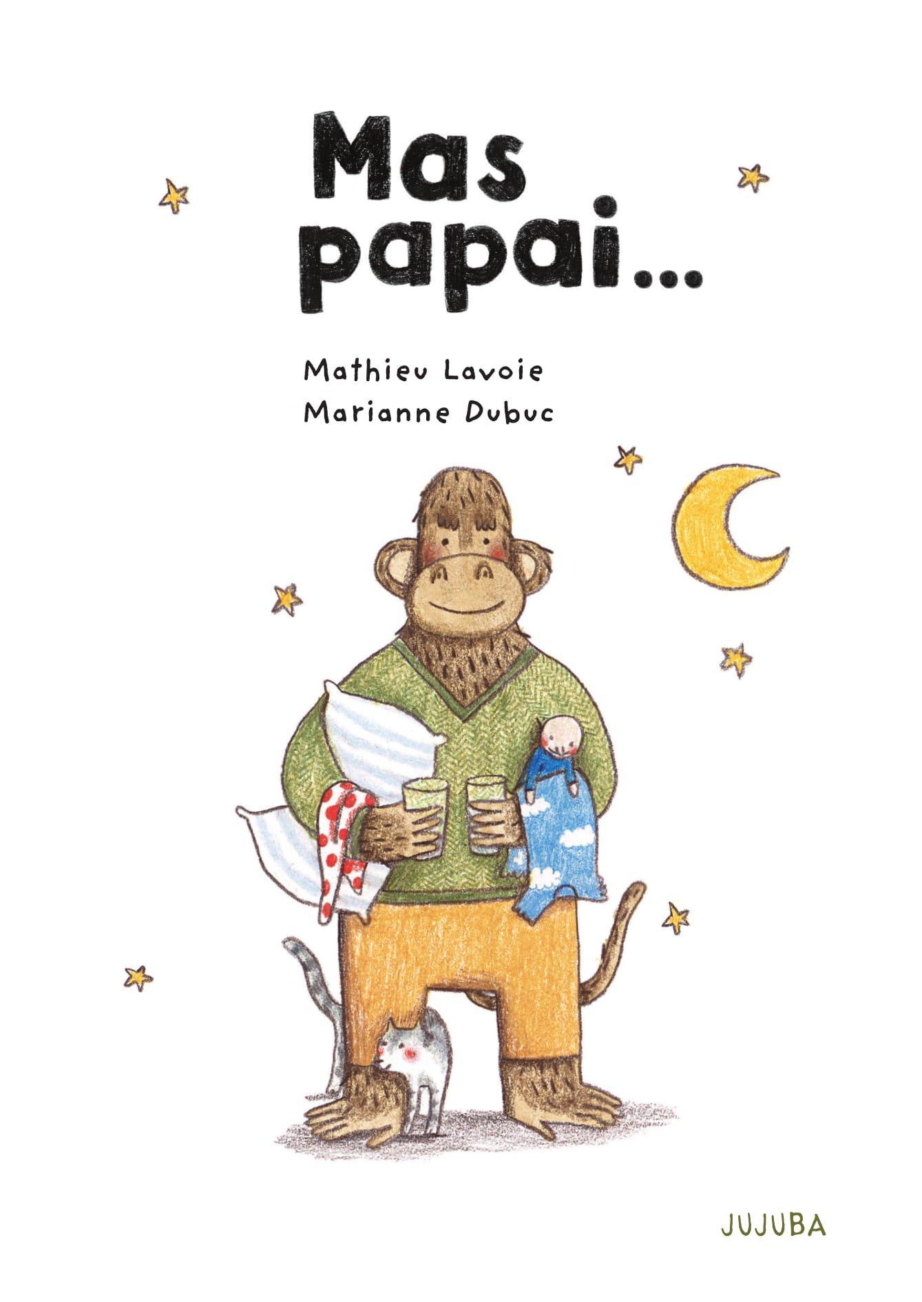 Mas papai..., livro de Mathieu Lavoie