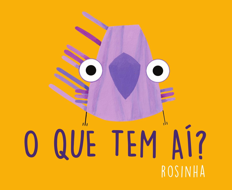 O que tem aí?, livro de Rosinha