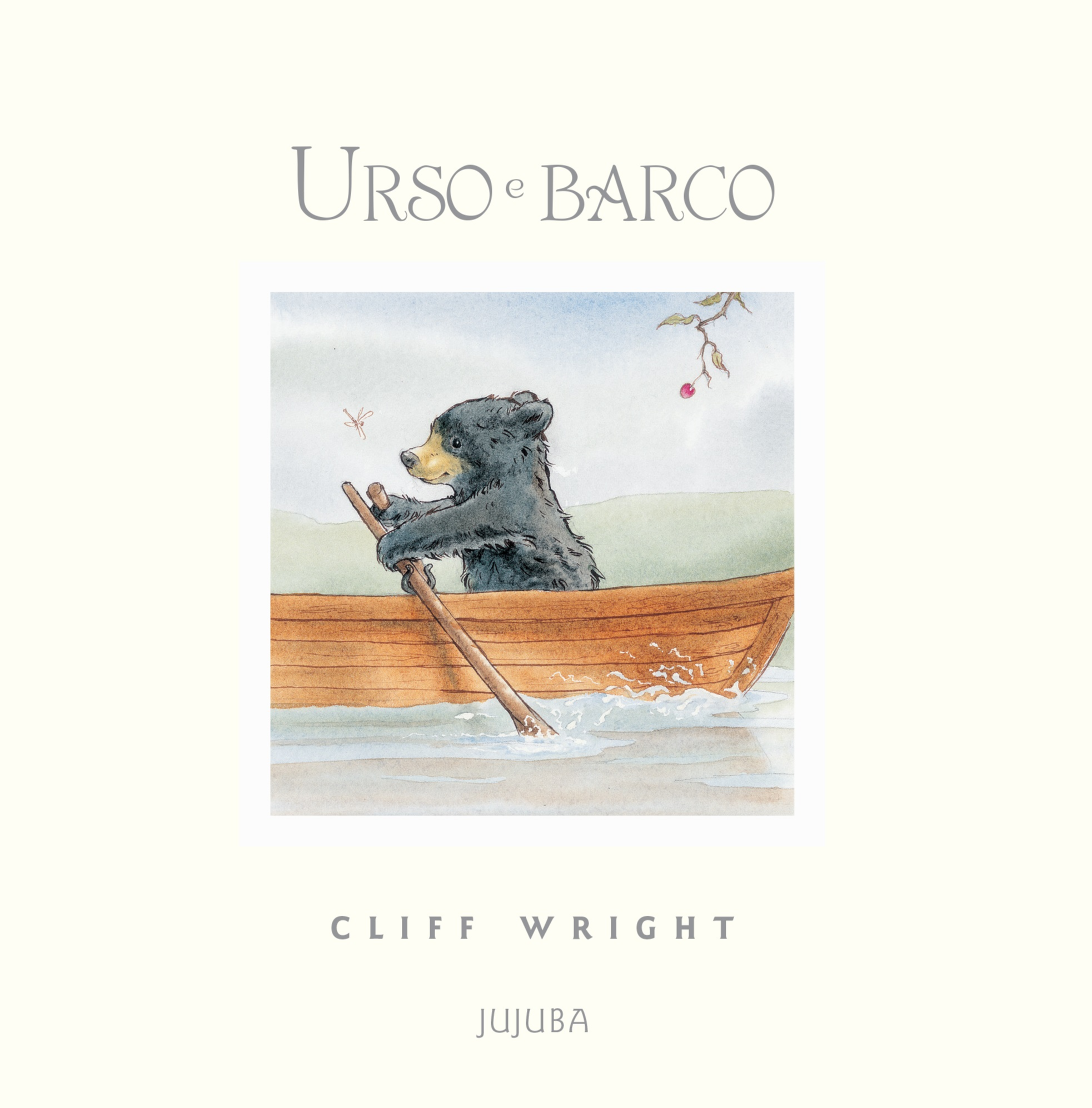 Urso e barco, livro de Cliff Wright