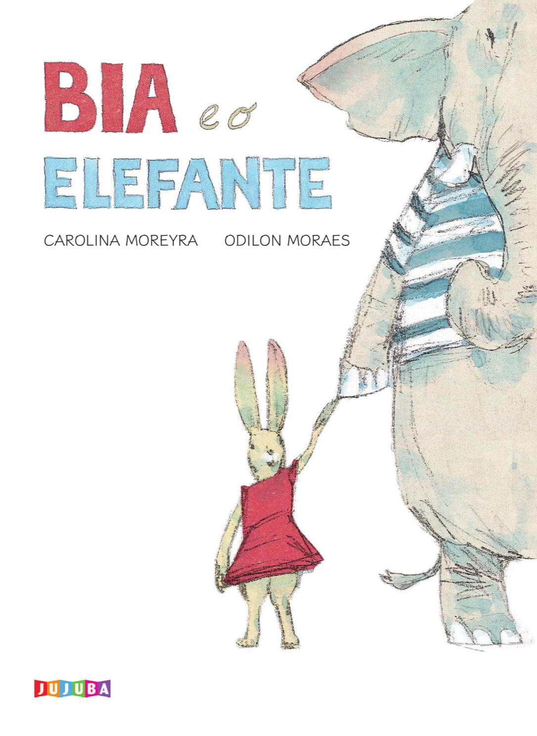 Bia e o elefante, livro de Carolina Moreyra
