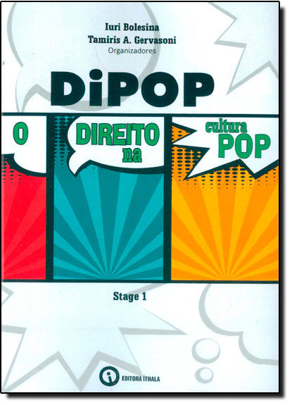 Dipop: O Direito na Cultura Pop, livro de Iuri Bolesina