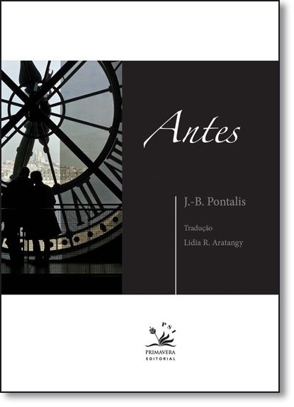 Antes, livro de J.B Pontalis