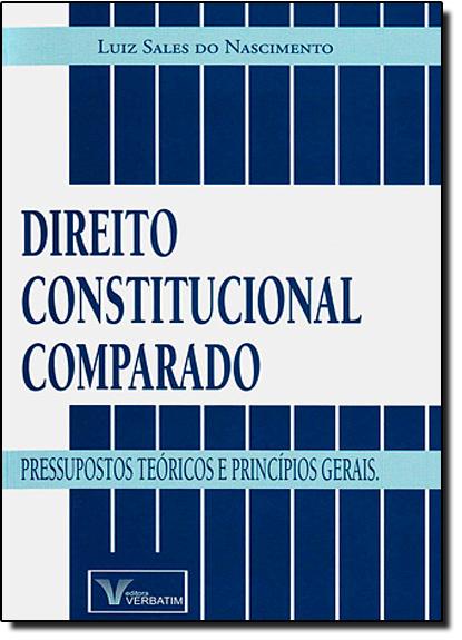 Direito Constitucional Comparado, livro de Luiz Sales do Nascimento