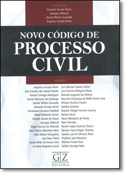 Novo Código de Processo Civil, livro de Eduardo Arruda Alvim