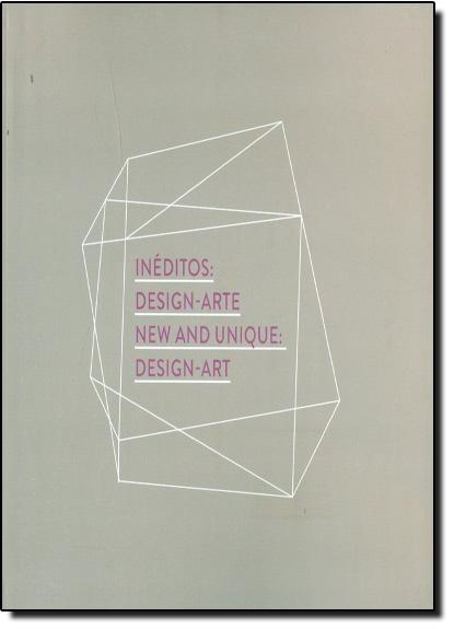 Inéditos: Design-arte, livro de Alberto Vicente