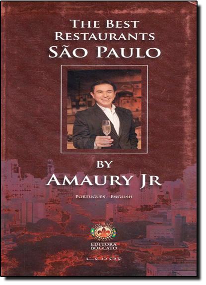 The Best Restaurants São Paulo, livro de Amaury Jr