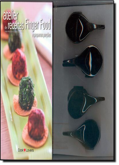 Kit Atelier de Receitas Finger Food e Pequenas Porções, livro de André Boccato | Equipe Cooklovers