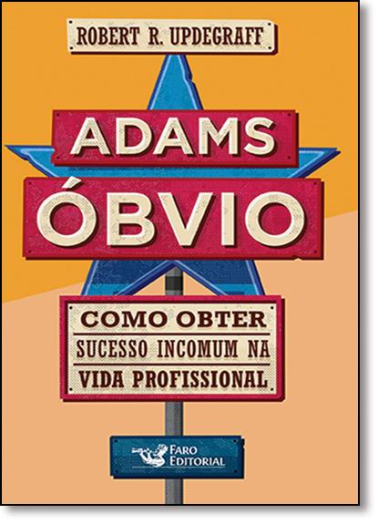Adams Óbvio, livro de Robert R. Updegraff