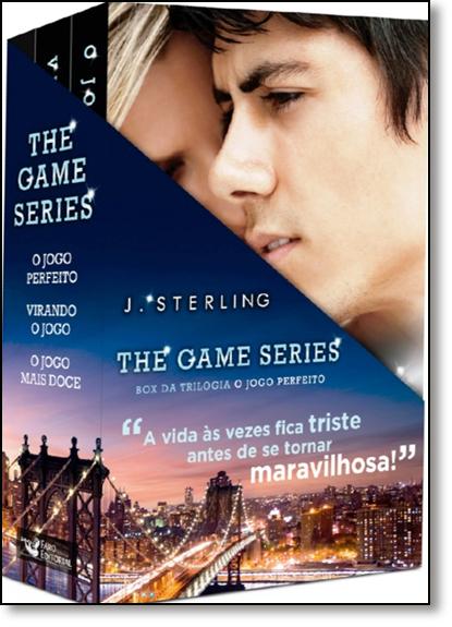 Box The Game Series: Trilogia o Jogo Perfeito - 3 Volumes, livro de J. Sterling