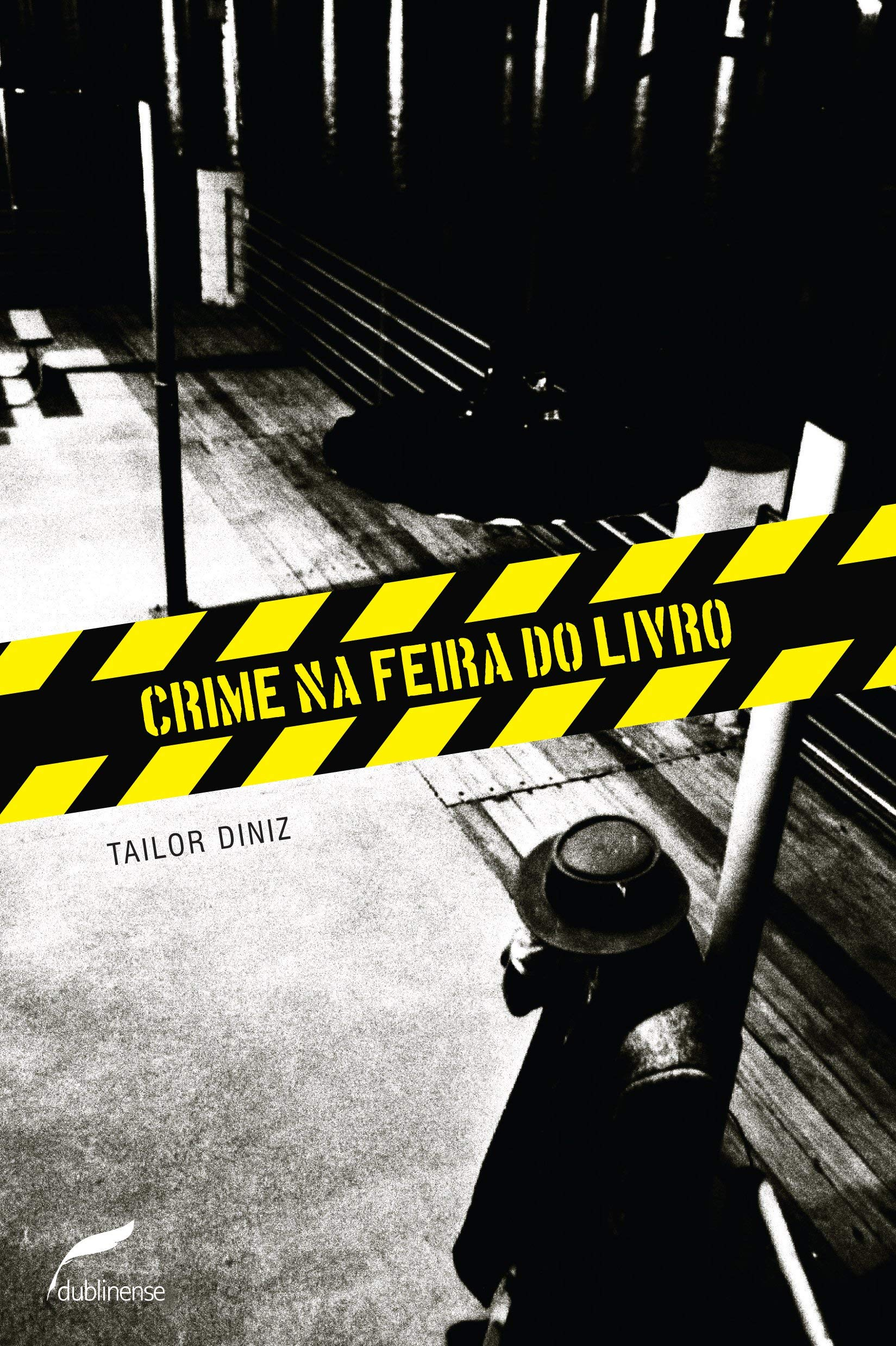 Crime na Feira do Livro, livro de Tailor Diniz