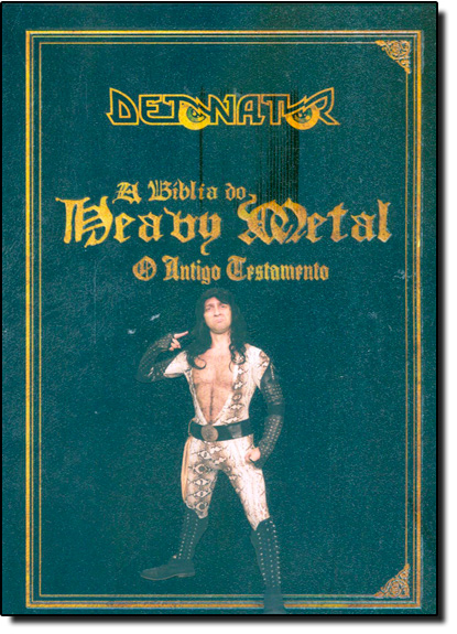 Detonator: A Bíblia do Heavy Metal, livro de Bruno Sutter