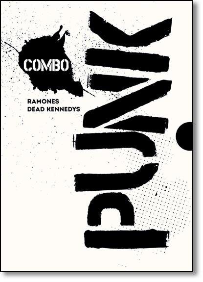 Combo Punk: Ramones + Dead Kennedys, livro de Monte A. Melnick
