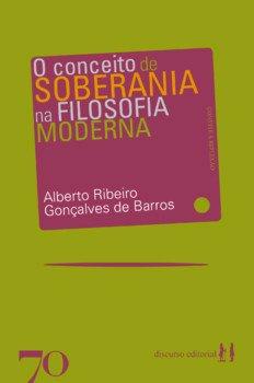 O conceito de soberania na filosofia moderna, livro de Alberto Ribeiro Gonçalves de Barros