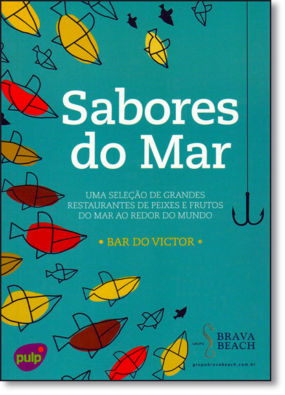 Sabores do Mar, livro de Bar do Victor