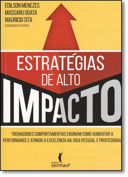 Estratégias de Alto Impacto, livro de Edilson Menezes