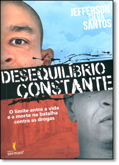 Desequilíbrio Constante, livro de Jeferson Silva Santos