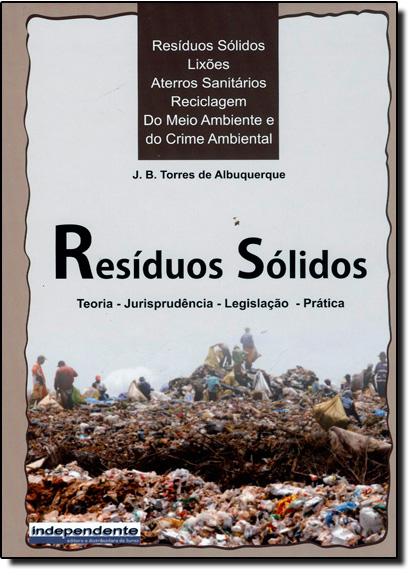 Resíduos Sólidos, livro de J. B Torres de Albuquerque