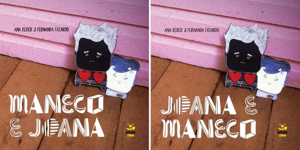 Joana e Maneco, livro de Ana Reber