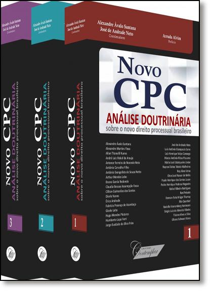 Coleção: Novo Cpc: Análise Doutrinária Sobre o Novo Direito Processual Brasileiro - 3 Volumes, livro de Alexandre Ávalo Santana