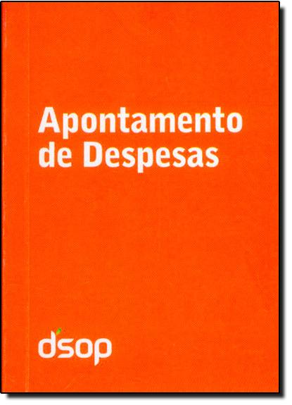 Apontamento de Despesas - Livro de Bolso - Laranja, livro de Reinaldo Domingos