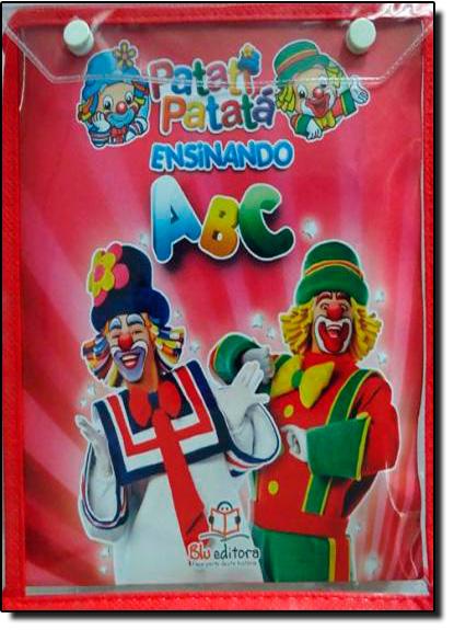 Patati Patatá Ensinando ABC, livro de Blu Editora