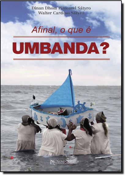 Afinal, o que É Umbanda?, livro de Dinan Dhom Pimentel Sátyro