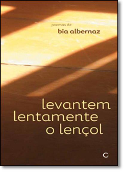 Levantem Lentamente Lençol, livro de Bia Alvernaz