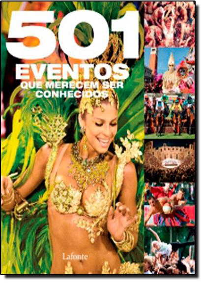501 Eventos que Merecem ser Conhecidos, livro de Alexandre Costa Quintana