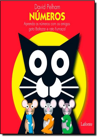 Números: Aprenda os Números com os Amigos Gato Baltazar e Rato Fumaça! - Pop-up, livro de David Pelham