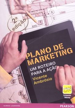 Plano de marketing - Um roteiro para a ação - 2ª edição, livro de Vicente Ambrósio