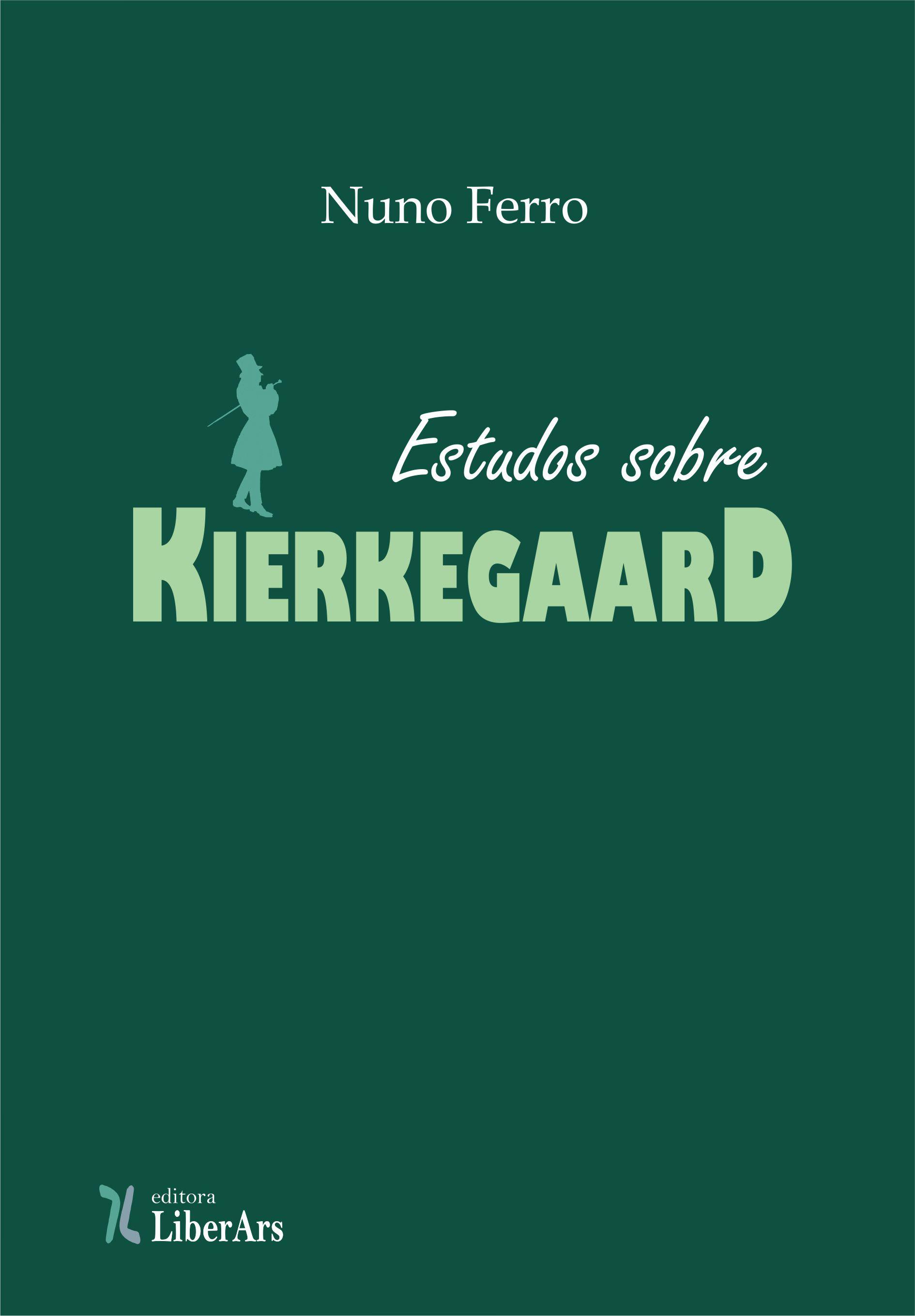 Estudos sobre Kierkegaard, livro de Nuno Ferro