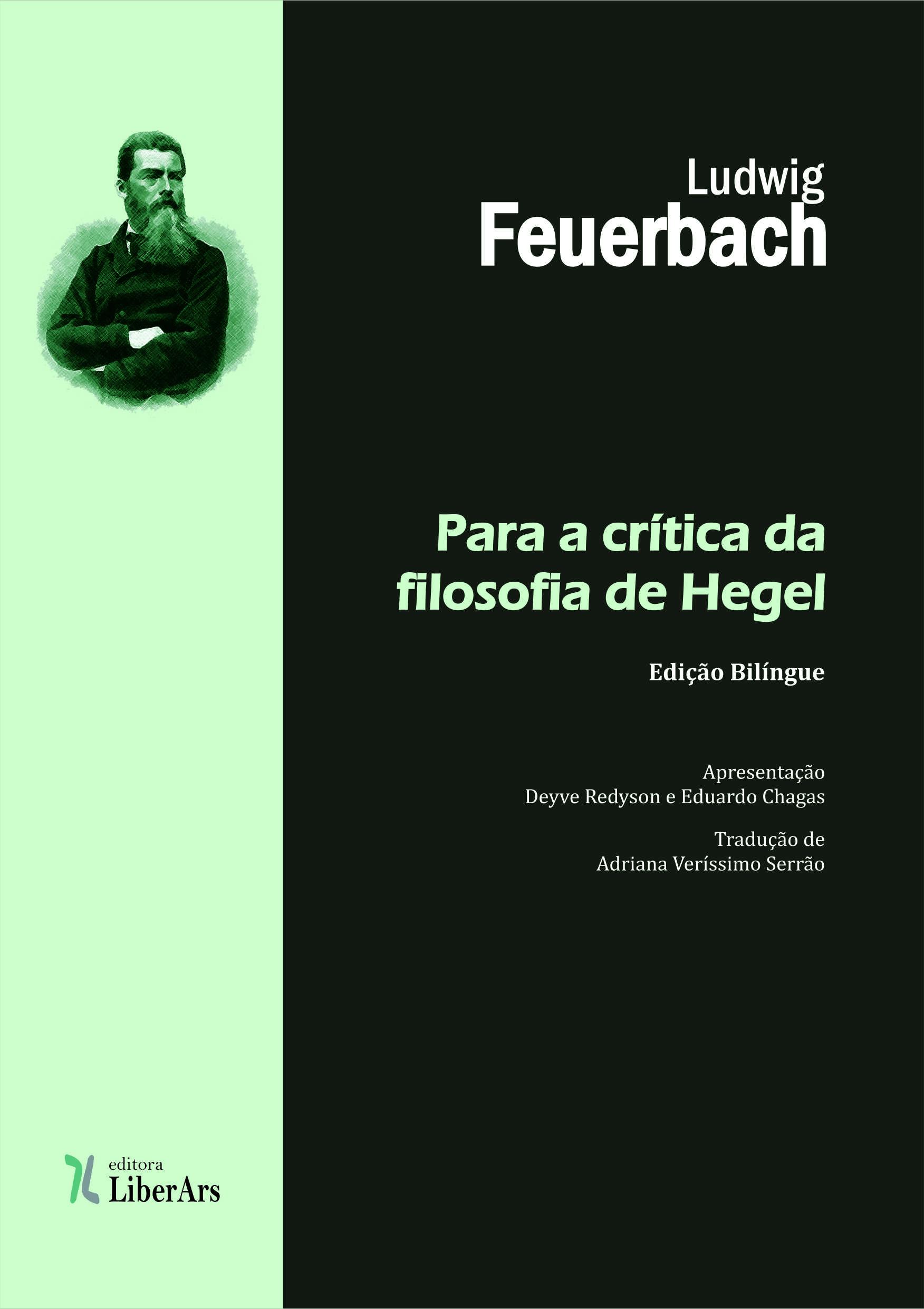 Para a crítica da filosofia de Hegel, livro de Ludwig Feruerbach