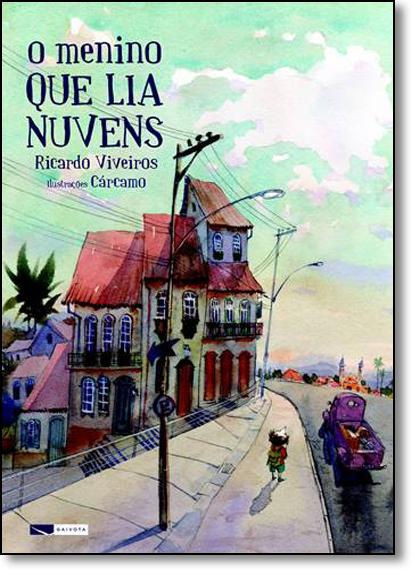 Menino que lia Nuvens, O, livro de Ricardo Viveiros