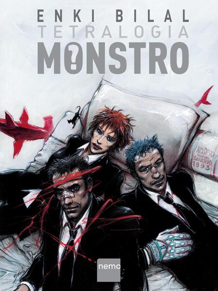 Tetralogia Monstro, livro de Enki Bilal