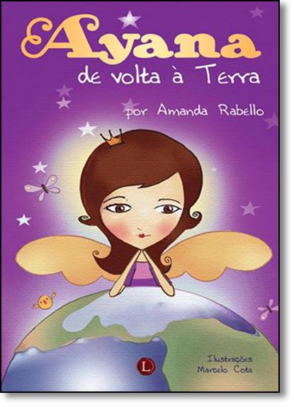 Ayana de Volta À Terra, livro de Amanda Rabello