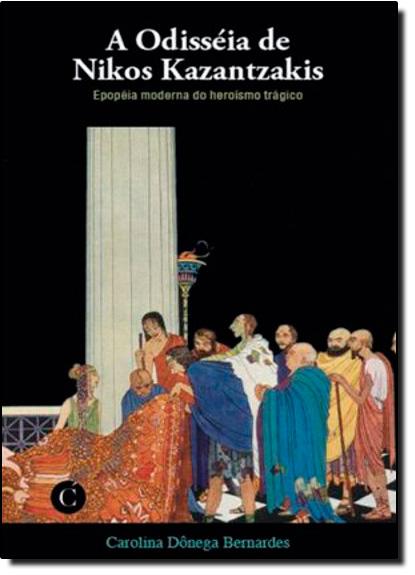 Odisséia de Nikos Kazantzakis, A, livro de Carolina Donega