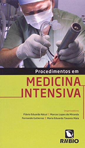 Procedimentos em Medicina Intensiva, livro de Flávio Eduardo Nácul
