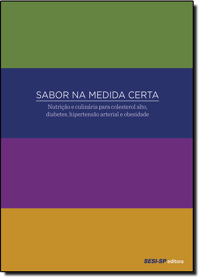 Kit Sabor na Medida Certa - 4 Volumes, livro de Sesi