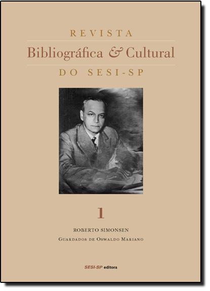Revista Bibliográfica e Cultural do Sesi - Sp - Vol.1, livro de Sesi