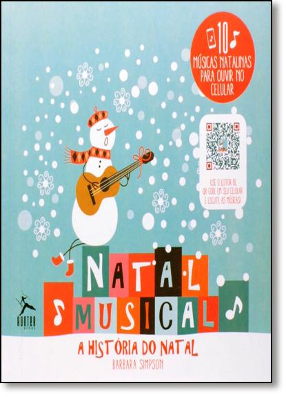 Natal Musical: A História do Natal, livro de Barbara Simpson