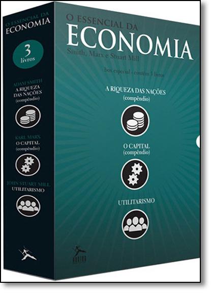 Box: O Essencial da Economia - 3 Volumes, livro de Varios Autores