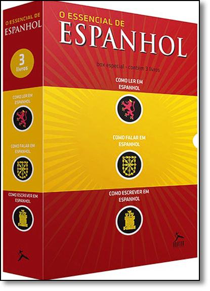Box O Essencial de Espanhol - 3 Volumes, livro de Equipe Editora Hunter Books