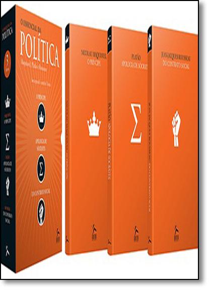 Box O Essencial da Política - 3 Volumes, livro de Vários Autores