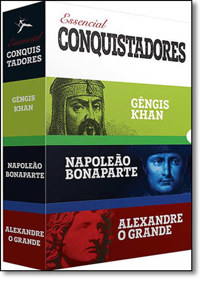 Box: Essencial Conquistadores - 3 Volumes, livro de Varios Autores