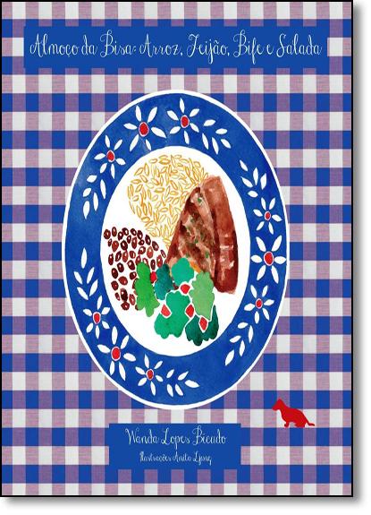 Box Almoço da Bisa: Arroz, Feijão, Bife e Salada - 4 Volumes, livro de Wanda Lopes Bicudo
