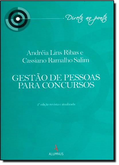 Gestão de Pessoas Para Concursos, livro de Andreia Ribas
