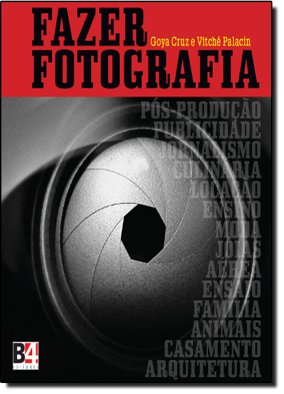 Fazer Fotografia, livro de Goya Cruz