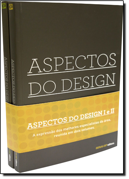 Kit Aspectos do Design, livro de Editora Senai