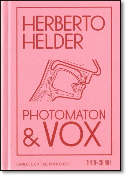 Photomaton e Vox, livro de Herberto Helder