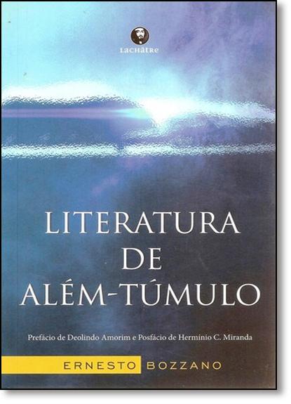 Literatura de Além-túmulo, livro de Ernesto Bozzano